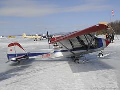 C-IIGG Quad City Challenger II (2008) sn : CH2-1002-2270 DSC_1170 (djipibi) Tags: winter snow ski ice mos river airplane aircraft aviation hiver ottawa rivire mo chez neige aylmer avion flyin glace rva outaouais luskville