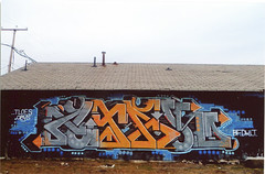 Atak (Joe Kane) Tags: nyc wall graffiti buffalo nj free graff bf atak deth hert kult dklt