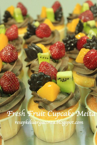 Fresh Fruit Cupcake