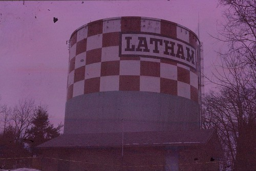 Latham Water Tower, Polachrome film