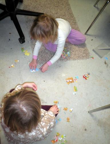 Capri, Cedi & a puzzle
