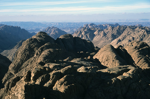 View from the Summit of Mt. Sinai, Egypt