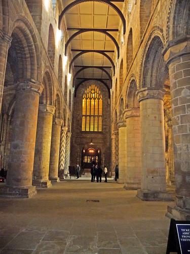 Inside Dunfermline Abbey , Dunfermline