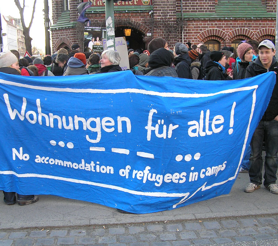 8.März: Demo in Potsdam