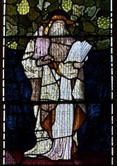 St Jerome (IanAWood) Tags: london raw stainedglass williammorris putney allsaintschurch churchwindows churchofengland morrisco d3x siredwardburnejones walkingwithmynikon nikkorpce24f35 surreychurches