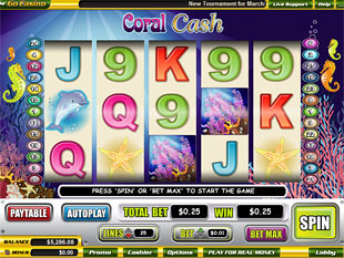 Coral Cash slot game online review
