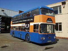 Strathtay 716 5Aug05 BBG (Gary Conn & Martin Gurr's preserved buses) Tags: gardner leyland fleetline bridgeton strathtay gvvt
