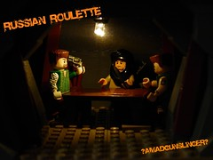 Russian Roulette (~Amadgunslinger~) Tags: black call lego fig duty mini vietnam roulette minifig custom russian ops