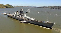 Battleship IOWA, 10 years ago (Konabish ~ Greg Bishop) Tags: ca usa abandoned northerncalifornia ships rusty iowa maritime pollution battleship benicia usnavy usn crusty warship polluted mothballfleet derelicts ussiowa navyships suisunbay nationaldefensereservefleet ghostfleet usnavyships marad bb61 beniciacalifornia readyreservefleet suisunbaycalifornia battleshipiowa pacificbattleshipcenter pacificbattleship bb61credited