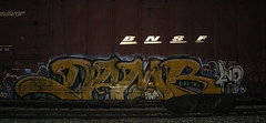 damb (RealestForreal) Tags: train graffiti freight graffititrain graffitifreight realestforreal