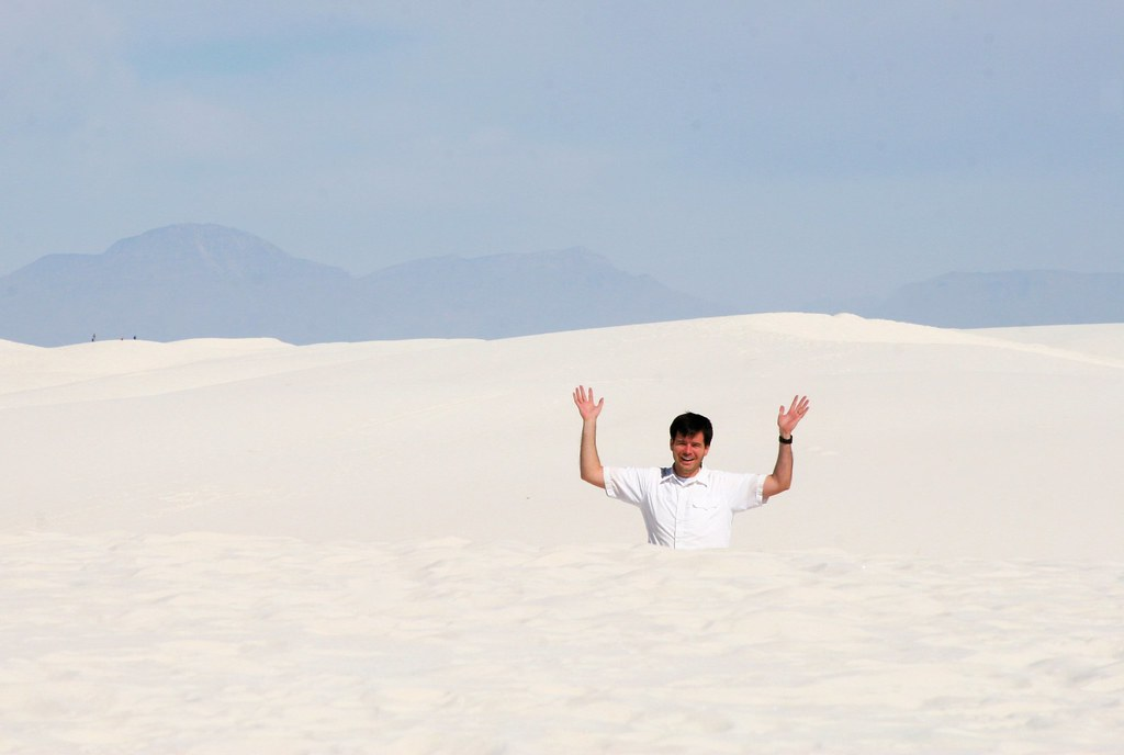 In the White Dunes