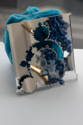 Mirrored Mandelbrot and Julia set