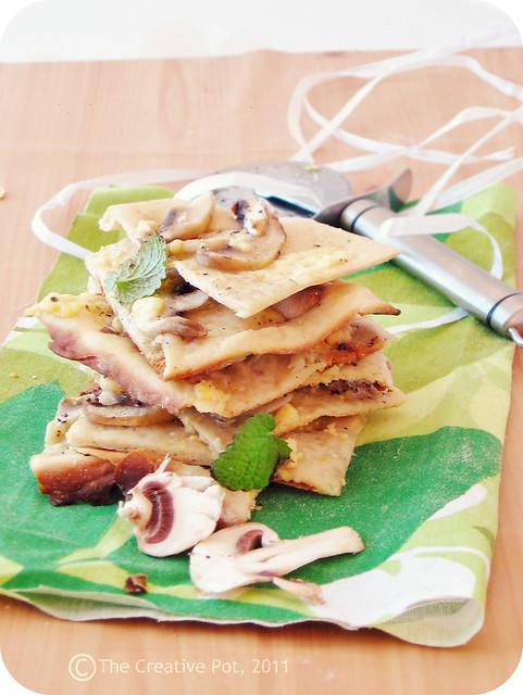 Mushroom & White Rock Pizza d3-w