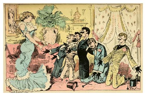 013-Reconciliacion con Tulipia-La grande mascarade parisienne 1881-84-Albert Robida