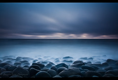 Exposure In Time (Brandon Lyons) Tags: ocean ca longexposure sunset sun seascape beach water clouds landscape sandiego pacificocean socal sunsetcliffs lightroom canoncamera 1635mm gnd