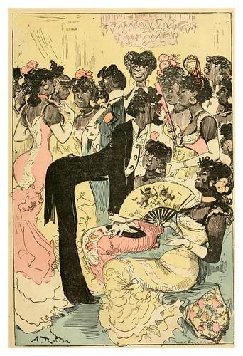 001-Fiesta diplomatica en la embajada de Zaguebar-La grande mascarade parisienne 1881-84-Albert Robida