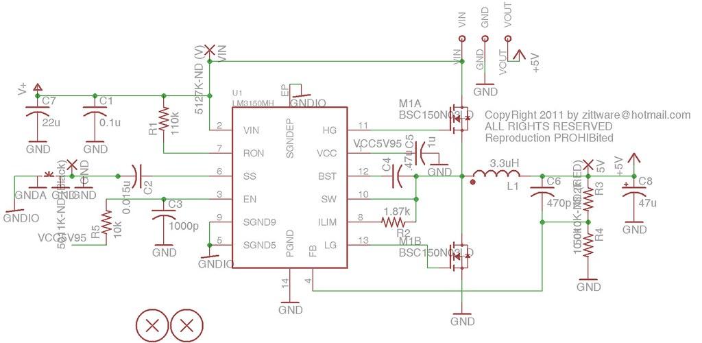 5V >4A Switcher