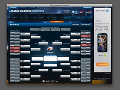 Bracket  from NCAA 2011 March Madness On Deman...