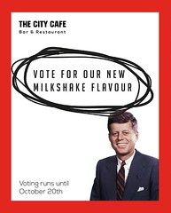 VOTING has begun! Choose our next flavour >>>> http://ift.tt/2cnO5WN #edinburgh #milkshakes #studentlife #cafe #royalmile #bar (The City Cafe Edinburgh) Tags: instagram city cafe edinburgh food diner eating bar drinking scotland citycafe