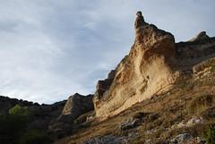 Cae la tarde (Oscar Moral) Tags: sierra guadalajara rocas