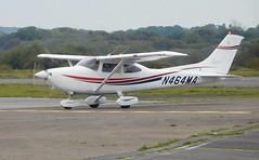 N464MA (goweravig) Tags: n464ma cessna 182 skylane visiting swansea wales uk swanseaairport aircraft dualbased