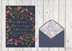 Late Night Lace Card (Chui-Jia) Tags: greeting card floral pattern