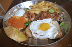 (Jia  ) Tags:      taiwan food brunch breakfast egg toast bread frenchfries fries  gf2 panasonic