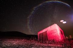 Night cottage (Juaberna) Tags: cottage caseta long exposure night stars nocturna estrellas destello flare samyang 14mm f28