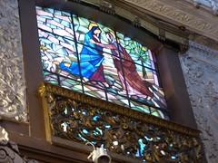 Stained glass window (Linda DV) Tags: lindadevolder panasonic geotagged travel portugal porto europe 2016 citytrip oporto ribbet