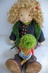 """LUCY  20"""" doll (Dearlittledoll) Tags: waldorf waldorfdoll dearlittledoll naturalfiberdoll organicdoll"""