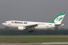 EP-MHO Airbus A.310-304 Mahan Air (pslg05896) Tags: epmho airbus a310 mahanair dus eddl dusseldorf lohausen