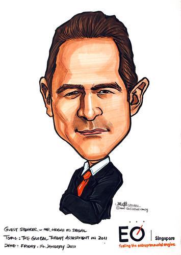 Caricature for EO Singapore 12012011