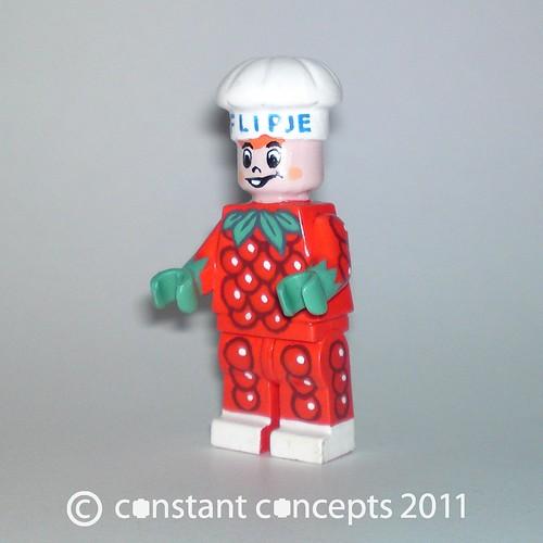 Custom minifig 2011 Flipje #1