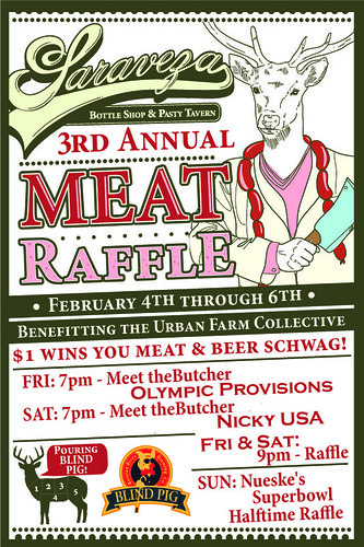 Saraveza's 3rd Annual Meat Raffle