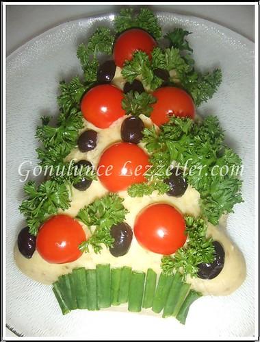 çam ağacı patates salatası