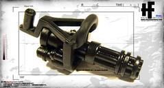 HF x GIA Minigun Concept [prototype] (HAZE-1/4cm) Tags: night design amazing team mare hand x system made works concept gia armory product ltd minigun accessory hf