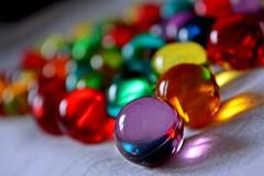 Bath beads 3 (Gondolin Girl) Tags: beads colours dof bokeh colourful bathbeads