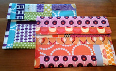 Wallet-y things (Sew Fresh Fabrics) Tags: fabricwallet fabricclutch
