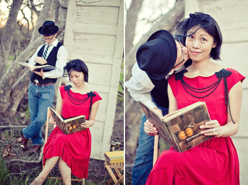 reading-kiss