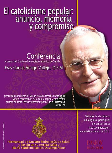 CONFERENCIA FRAY CARLOS