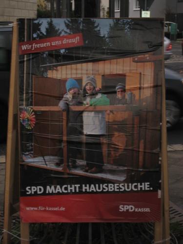 SPD Kassel droht mit Hausbesuchen