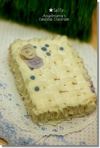 天使媽媽蛋糕皂教學Sally3