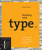 Portada del libro Thinking with Type