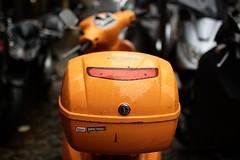 * (Gwenal Piaser) Tags: november orange paris france 35mm canon eos vespa scooter canoneos 2010 infectious 35mmf14 50d 35l canonef35mmf14lusm eos50d canoneos50d ef35mmf14lusm unlimitedphotos gwenaelpiaser