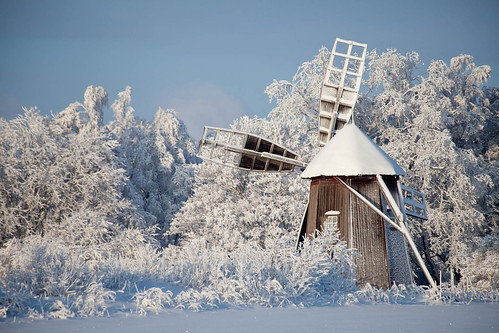 Old windmill in Otava