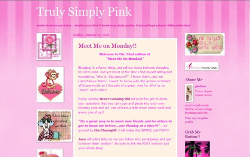 Truly Simply Pink