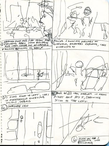 Shot 1-6 Storyboard