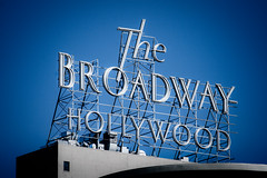 The Broadway Hollywood (TooMuchFire) Tags: 1920s signs vintage typography losangeles neon hollywood type southerncalifornia typeface neonsigns 1927 hollywoodandvine oldsigns vintagesigns vintageneonsigns vintagesignage thebroadwayhollywood renaissancearchitecture broadwaydepartmentstore 1645nvinestlosangelesca losangeleshistoricalculturalmonument664 frederickricedorn