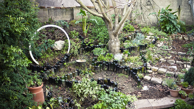 "this is the garden ""BEFORE"" picture, taken 15 January 2011"