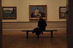 viewing the Manets     3586 (deanwgd608) Tags: newyorkcity people museum manhattan culture metropolitanmuseumofart manet canonef24105mmf4lisusm canon5dmk2